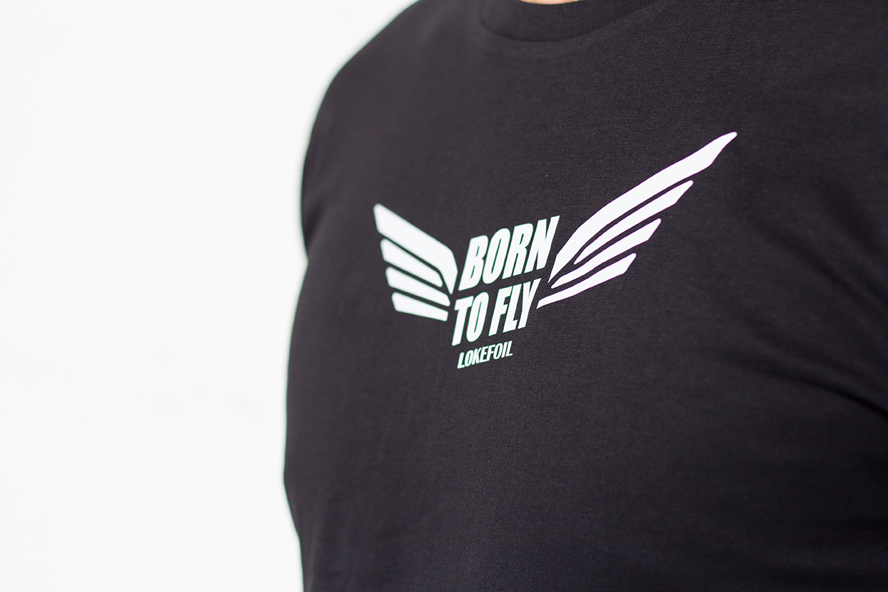 T-shirt men Born to Fly