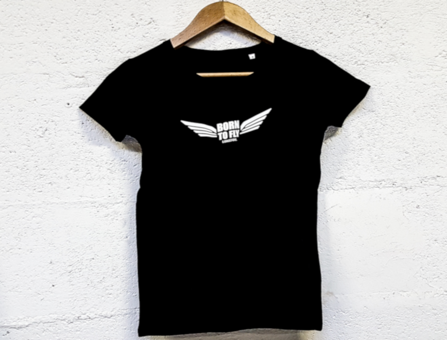 T-shirt women Born to Fly